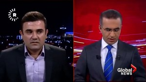 Kurdish TV shows moment earthquake hits Kurdistan region