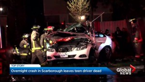 Whitby teen killed in Scarborough crash