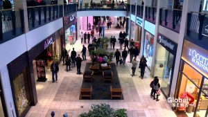 Calgary malls crowded on busiest shopping days of the year