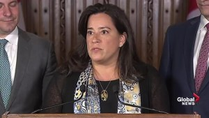 Justice Minister Jody Wilson-Raybould announces amendments to three federal family laws