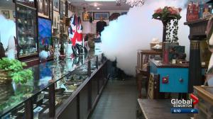 Edmonton jewelry store beefs up security with smoke device