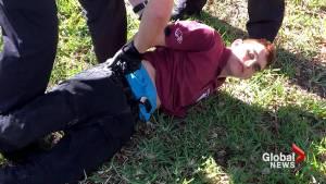 Law enforcement questioning 19-year-old suspect Nikolas Cruz in Florida school shooting