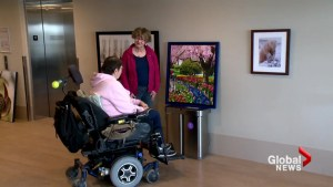 Calgary photographers donate work to housing building for people with disabilities: 'Something to inspire us'