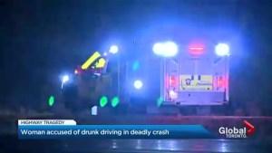 Mother-of-three dies in Highway 404 crash
