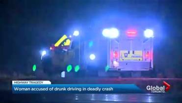 Woman charged with impaired driving after fatal 2-vehicle