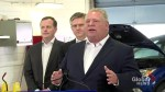 Doug Ford rails against federal carbon tax