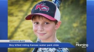 Boy dies on world's tallest water slide