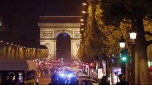 Police officer killed in shooting on Champs-Élysées in Paris