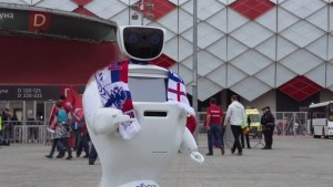 Russian researchers design robot to protect English soccer fans during 2018 World Cup