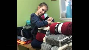 Tamara Richer is an 11 year old Kingstonian who is trying to help the homeless
