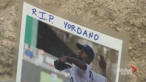 Fans pay tribute to Yordano Ventura as memorial grows outside Kaufman Stadium in Kansas City