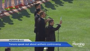 Tenors speak out against 'lone wolf' following Canadian anthem controversy