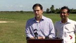 Marco Rubio reacts after explosives mailed to Florida congresswoman, Hilary Clinton, Barack Obama and CNN