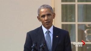 Obama calls Trump's flattery of Russia's Putin 'unprecedented'