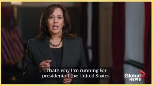 California Senator Kamala Harris announces her run for President in 2020