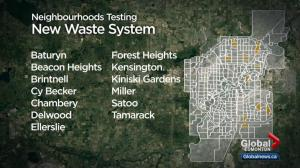 Edmonton neighbourhoods to test out new garbage sorting, collection system