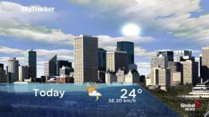 Edmonton early morning weather forecast: Wednesday, July 17, 2019