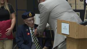 Winnipeg Second World War veteran awarded legion of honour medal on 100th birthday