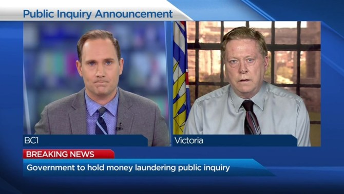 COMMENTARY: With public inquiry, NDP government no longer in control of B.C. money-laundering issue