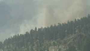 BC Wildfires: Raw video from Summerland