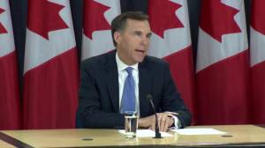 Morneau outlines three steps being taken to promote Trans Mountain