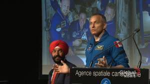 David Saint-Jacques back on solid ground after six-month mission in space