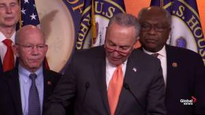 Trump 'looking for every excuse' to not work with Democrats on infrastructure: Schumer
