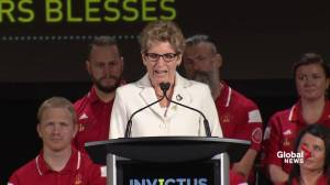 Premier Wynne: 'I just about called you Justin'