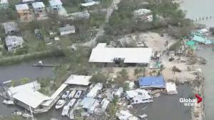 Helicopter offers first look at Florida Keys post-Hurricane Irma