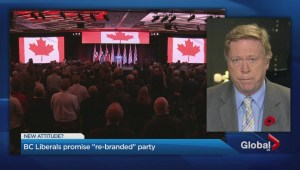 BC Liberals pledging a 'renewed brand and identity'