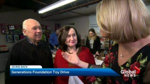 Generations Foundation holiday toy drive wraps up