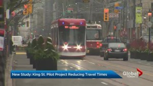 Research deems King Street transit pilot project a success