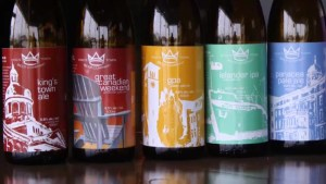 A preview of the King's Town Beer Company's Ales for ALS