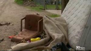 Should a reward be offered for reporting illegal dumping in Saskatoon?