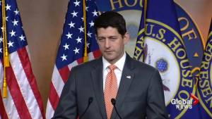 Ryan casts doubt on Congress acting to stop tariffs