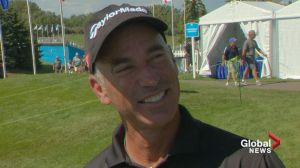 Raw: Corey Pavin at Shaw Charity Classic