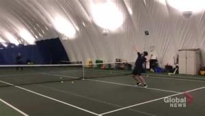 Second Serve: A tournament final