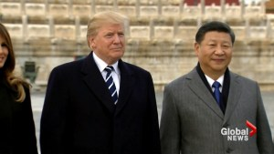 Trump to push China on trade, North Korea during two-day visit