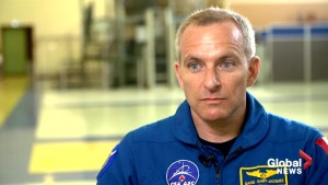 Canadian astronaut David Saint-Jacques on  training in Russia for space mission