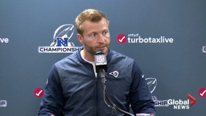 'Excited to move on and play in Atlanta': Los Angeles Rams head coach Sean McVay