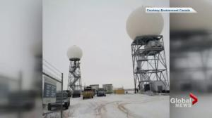 New weather radar station running in Radisson, Sask.