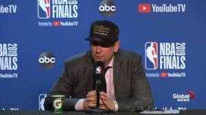 NBA Finals: Nick Nurse says Raptors 'fought hard'