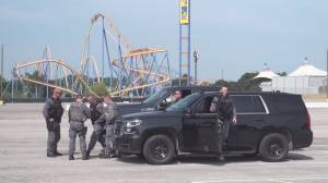 Heavy police presence at Canada's wonderland due to unconfirmed information about GTA
