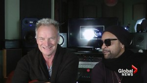 Sting makes his pick for the Super Bowl