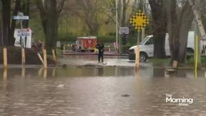 Flooding wreaks havoc on Canadian cities