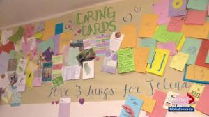 Cards send love to Edmonton teen in hospital with Cystic Fibrosis