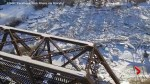 Drone footage captures massive 'ice jams' in Vermont town