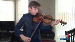 Musical prodigy from Edmonton earns spot in 'Olympics of Violin'