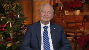 Governor General wishes Canada a happy New Year and 150th anniversary