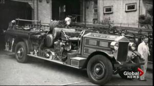 Restored 1929 Bickle Pumper makes return to Vancouver Fire Hall No. 6